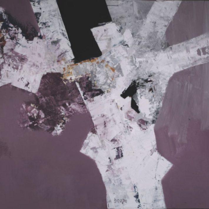 Anhedonia Acrílico sobre tabla 61 x 61 cm